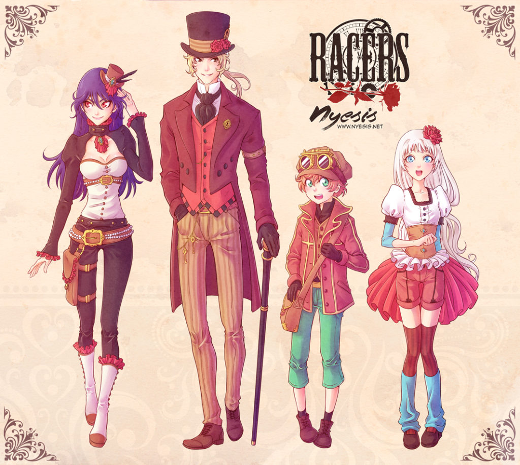 Personaggi Racers
