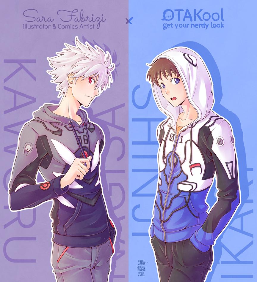 OTAKool Collab: Kaworu & Shinji